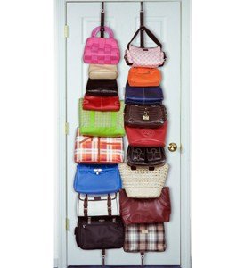 Over the Door Purse Organizer (Set of 2) Image