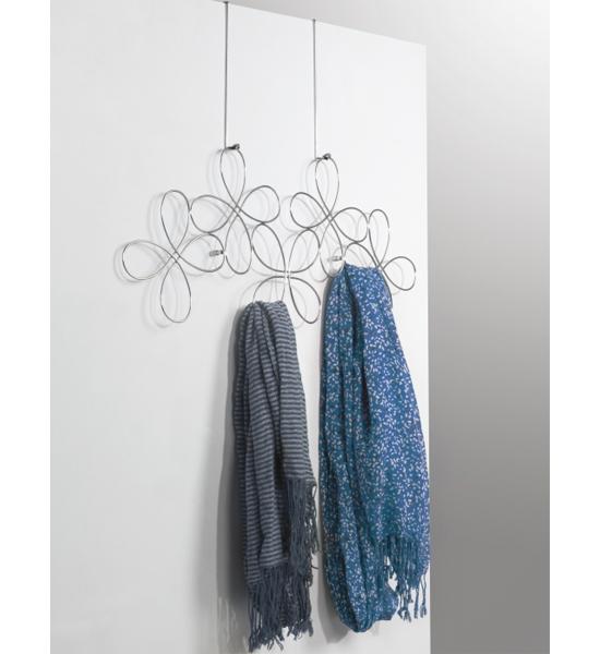 Over The Door Scarf Organizer In Scarf Hangers