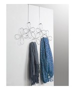 Over the Door Scarf Organizer