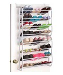 24 Pair Closet Shoe Rack