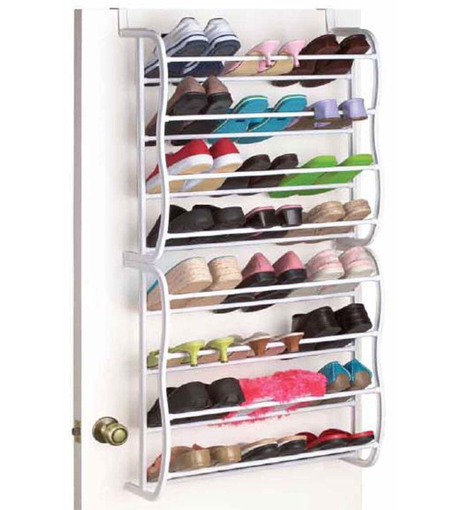 24 Pair Closet Shoe Rack ...