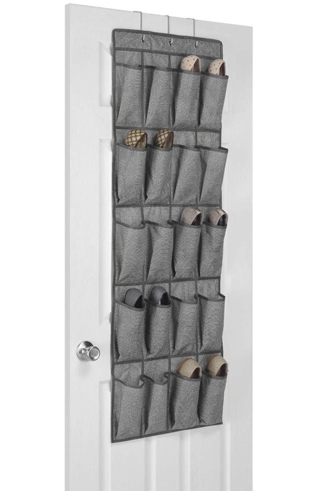 Over The Door Shoe Pockets Price: $10.99