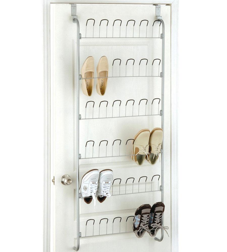 Superb Over The Door Wire Shoe Rack Image