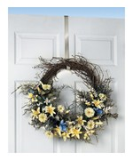 Over the Door Wreath Hanger - Nickel