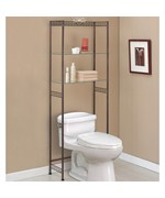 Over the Toilet Etagere - Bronze