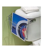 Over the Tank Bathroom Magazine Rack