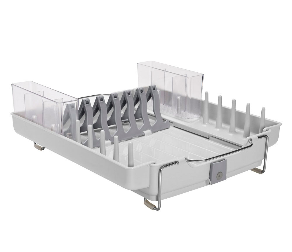 Oxo Good Grips Foldaway Dish Rack In Dish Racks