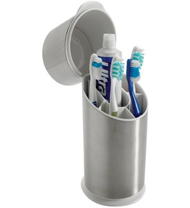 OXO Stainless Steel Toothbrush Holder Image