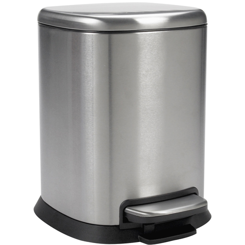 Oxo Small Step Trash Can Stainless Steel In Small Trash Cans