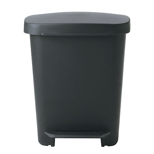 Oxo 8 gallon rectangle step trash can in kitchen trash cans - Rectangular garbage cans ...