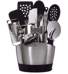 OXO Stainless Steel Utensil Holder Image