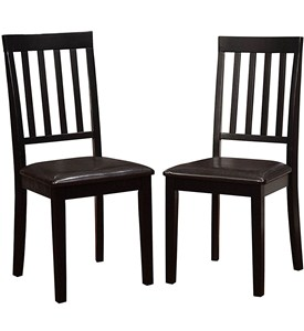Padded Dining Chairs (Set of 2) Image