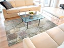 Padded Floor Mat - Rock Pattern