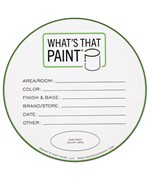 Paint Can Labels - Gallon
