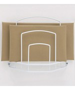 Paper Bag Holder - White