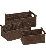 Paper Rope Woven Baskets - Java