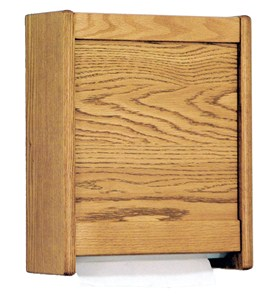 Paper Towel Dispenser - Oak Image
