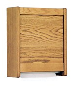 Paper Towel Dispenser - Oak