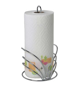 Paper Towel Holder - Floral Design Image