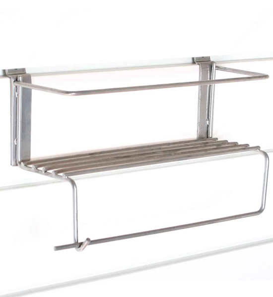 Paper Towel Holder with Shelf - Proslat in Proslat Garage Storage