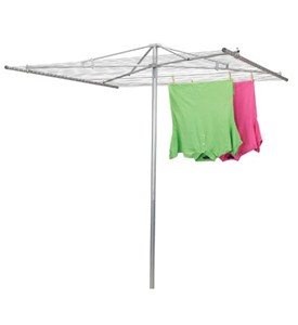 Parallel Outdoor Clothes Drying Rack Image
