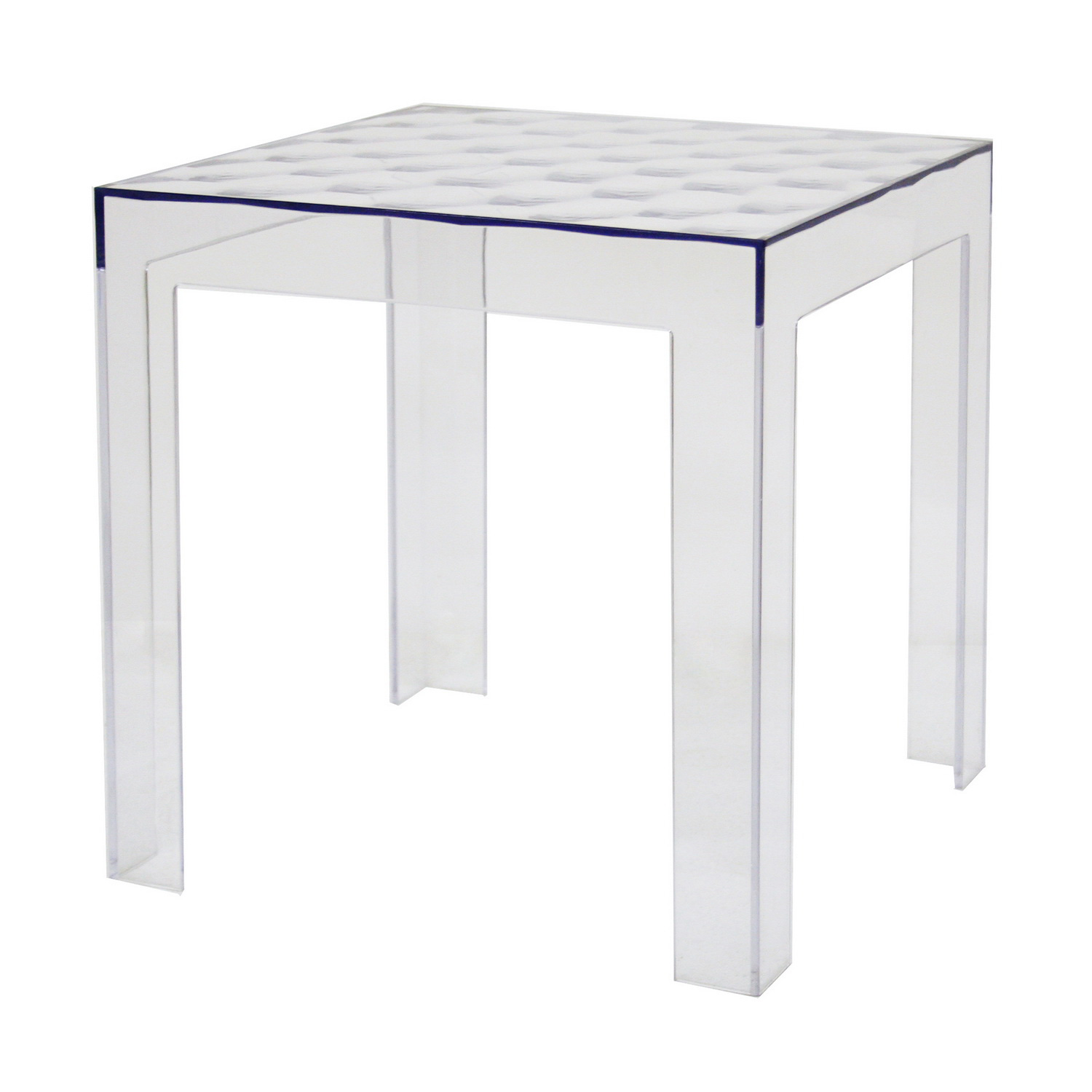 Parq Clear Acrylic Modern End Table By Wholesale Interiors