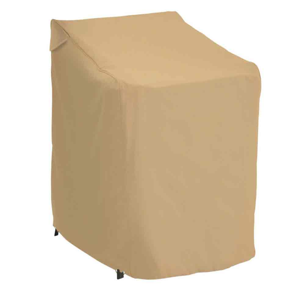 Patio chair stack cover in patio furniture covers for Patio furniture covers