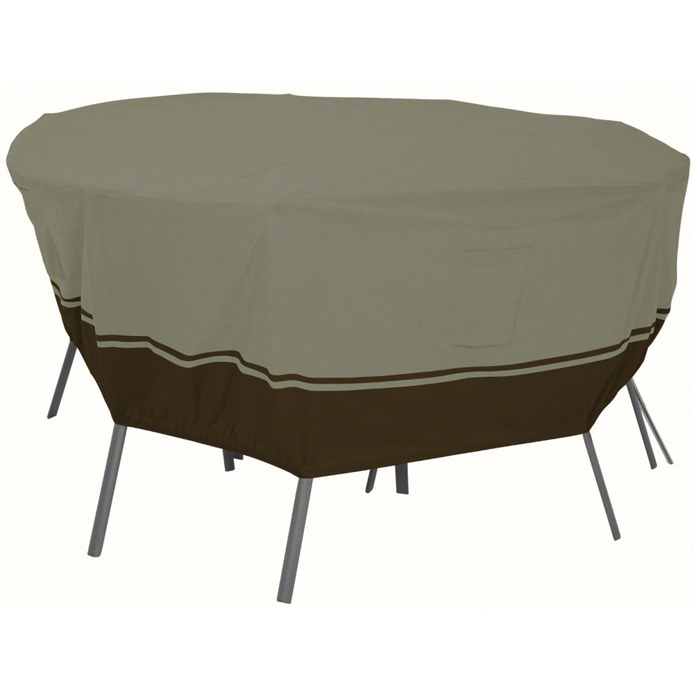Patio table and chairs cover villa in patio furniture covers for Deck table and chairs