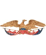 Patriotic Eagle Wall Plaque