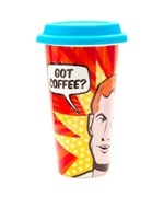 Ceramic Travel Mug - Pop Art