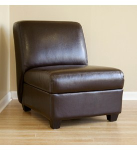 Pax Full Leather Club Chair Image