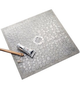 Pebble Shower Mat Image