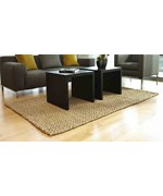 Perfect Diamond Jute Rug by Anji Mountain