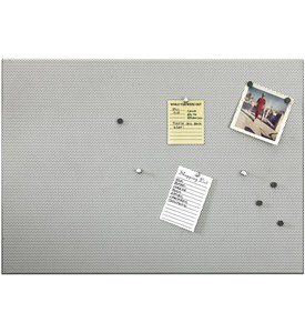 Perforated Nickel Bulletin Board Image