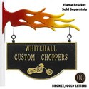 Personalized Chopper Storefront Sign
