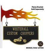 Personalized Chopper Storefront Sign by Whitehall