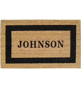 Personalized Coir Doormat Image
