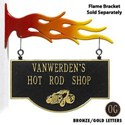 Personalized Hot Rod Storefront Sign