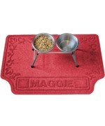 microfiber place dog mat water mats large personalized pet bowl