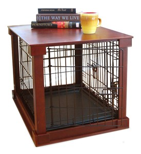 Pet Crate End Table Image