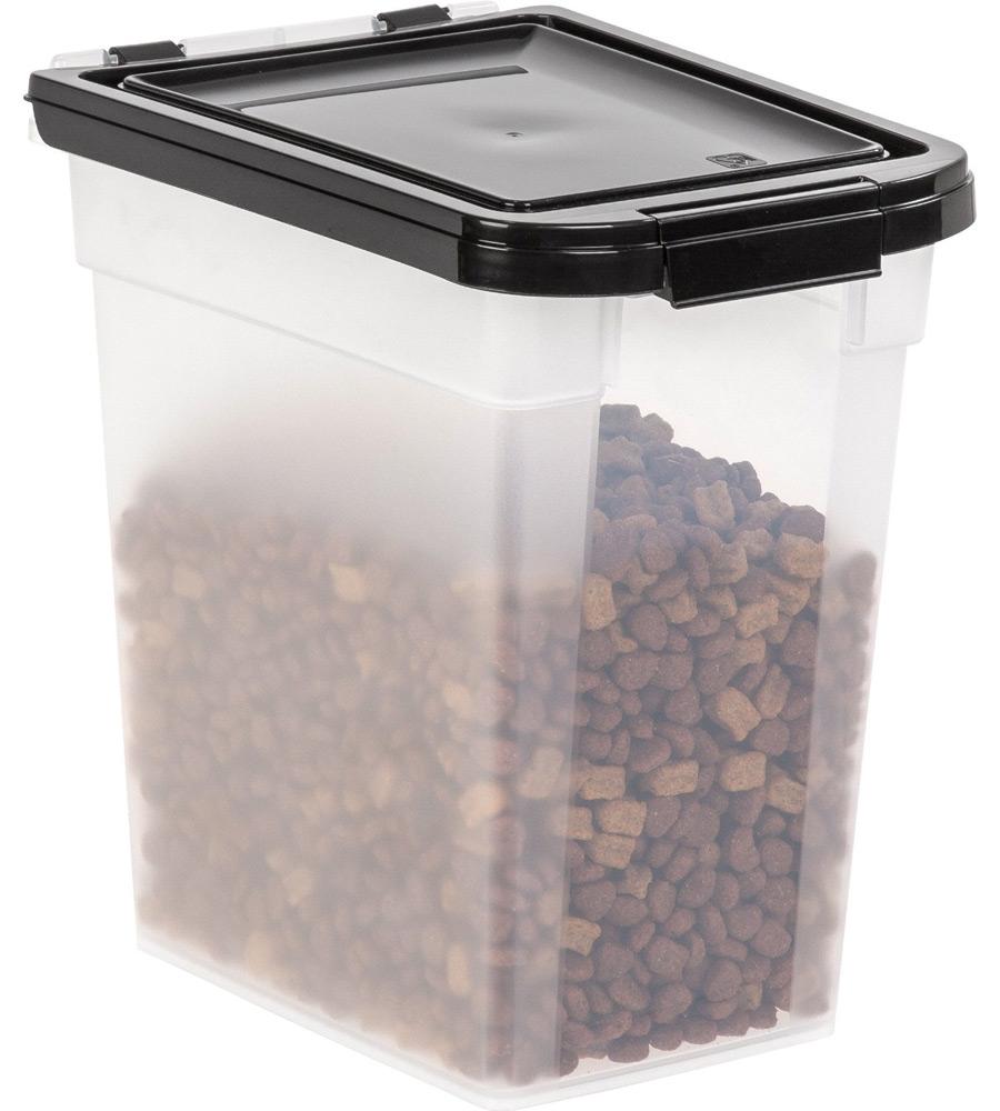 pet food container 12 quart in pet food storage. Black Bedroom Furniture Sets. Home Design Ideas