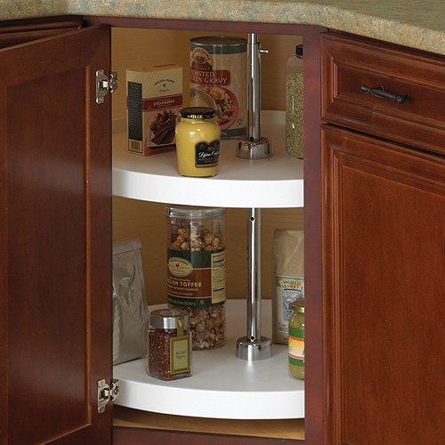 18 Inch Cabinet Lazy Susan   White   Full Round Price: $58.99