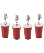 Picnic Tablecloth Weights - Red Party Cups