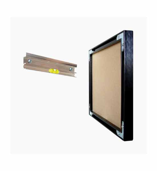 Picture Hanger For Aluminum Frames In Picture Hanging