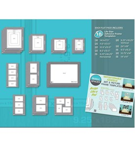 Life Size Picture Templates (Set of 18) Image