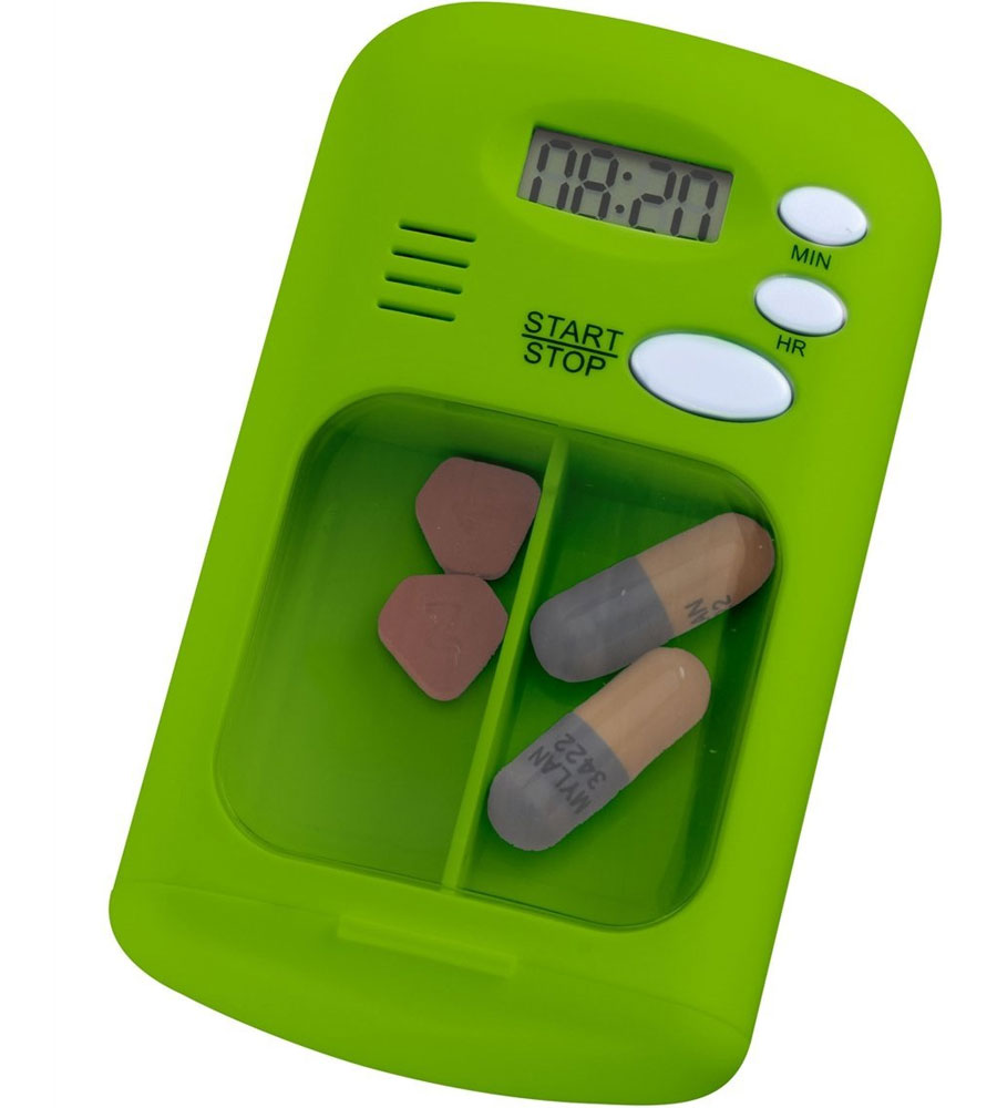 Pill Reminder Alarm In Pill Organizers