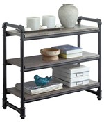 Pipe-Style 3-Tier Shelf