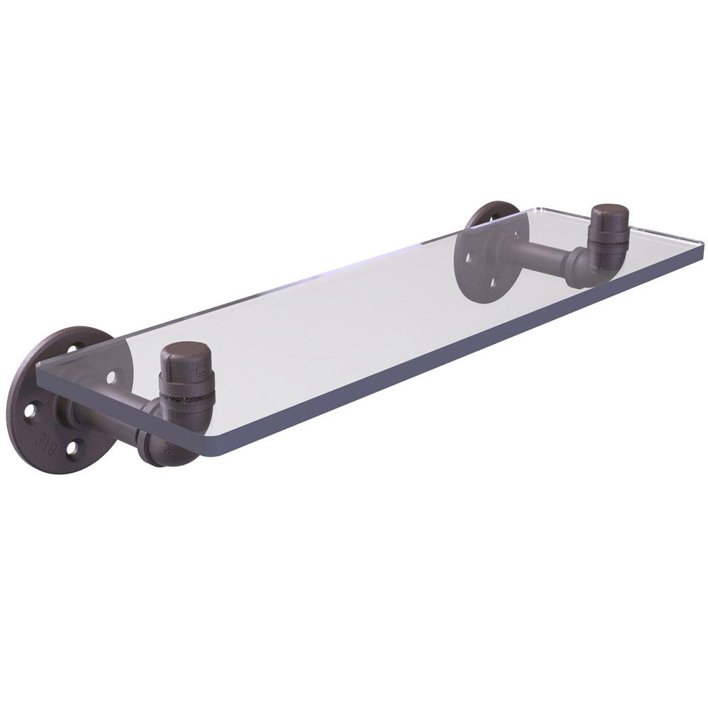 pipeline 16 inch wall mount glass shelf price