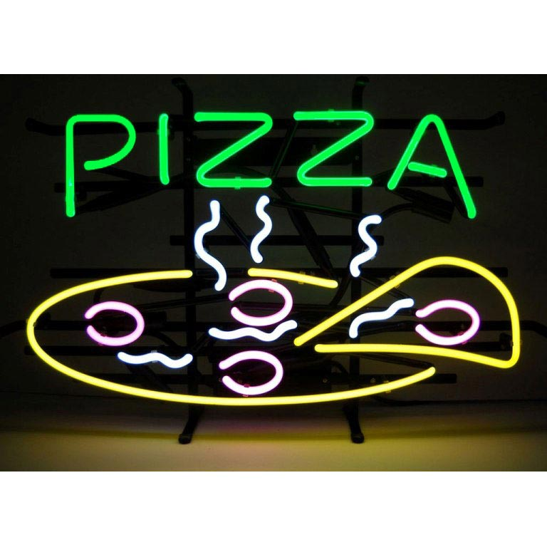 Pizza Neon Sign by Neonetics in Neon Signs