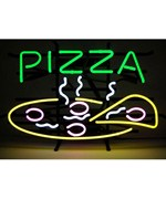 Pizza Neon Sign by Neonetics